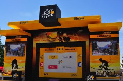 Tour de France 2014 - Big TV screens